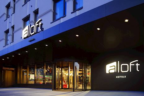 Aloft Entrance